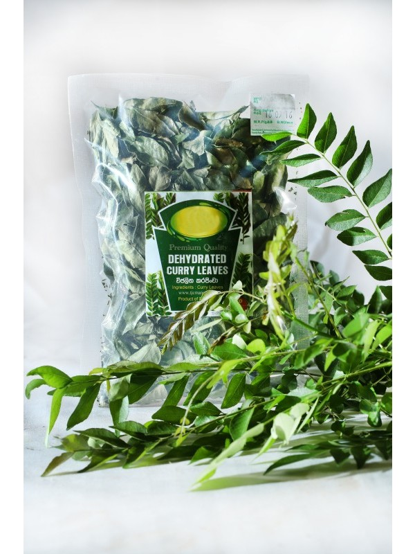 Lanka Exports - Processed Food Items - Dehydrated Curry Leaves - Sri Lanka