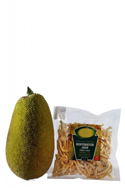Lanka Exports - Processed Food Items - Dehydrated Jackfruit - Sri Lanka